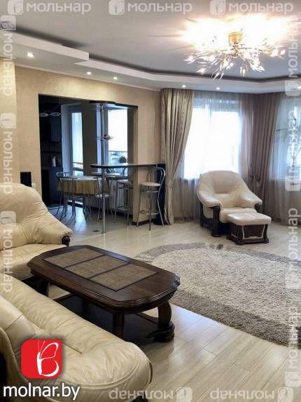 Продаётся трехкомнатная квартира с ремонтом и мебелью. ул.Лобанка,88
