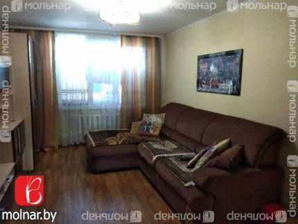 Продаём трехкомнатную квартиру в г.п.Глуске. ул.Кирова,43